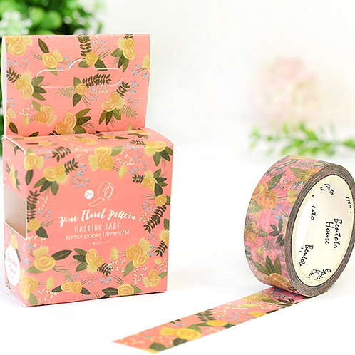 Blooming Floral Washi Tape