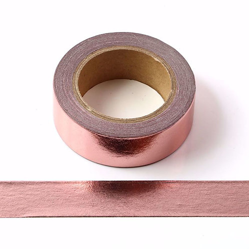 Rose Gold Metallic Washi Tape