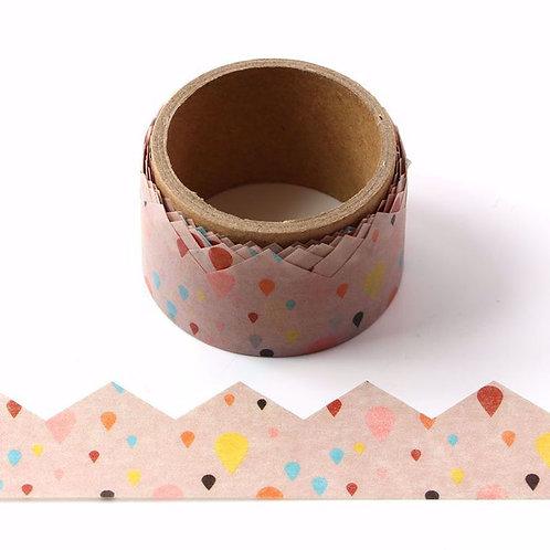 Pastel & Pop Die Cut Washi Tape