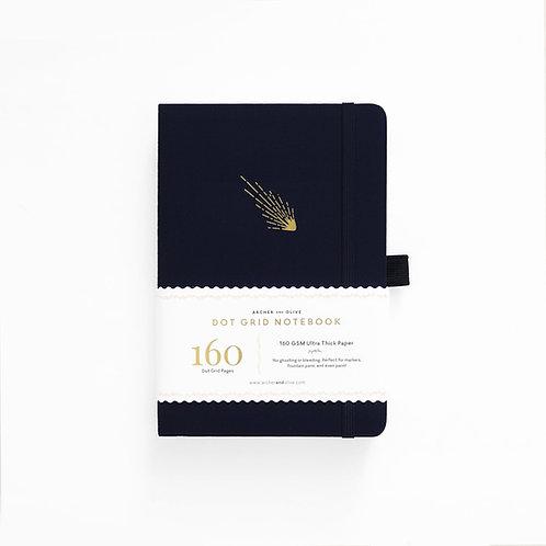 Archer & Olive B5 Dot Grid Notebook - Falling Skies
