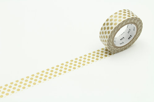 MT Dot Gold 2 Washi Tape