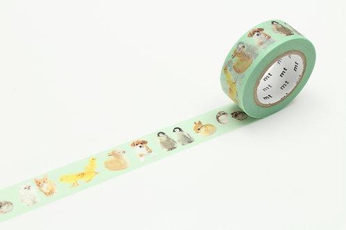 MT Ex Baby Animals Washi Tape
