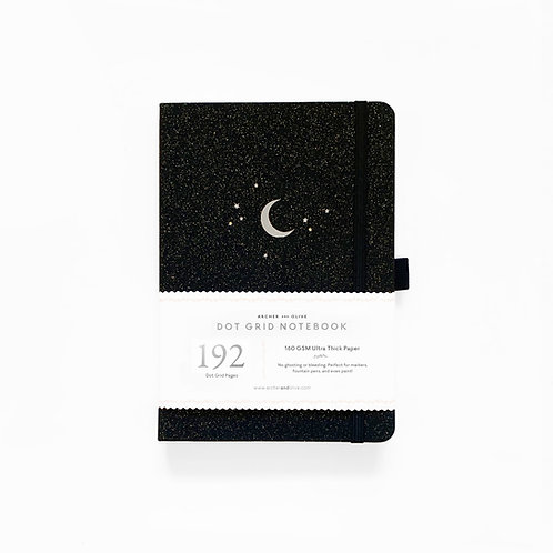 Archer & Olive A5 Dot Grid Notebook - Forest Night 192 PAGES