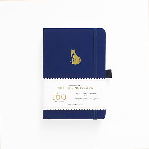 Archer & Olive B5 Dot Grid Notebook - Clever Fox