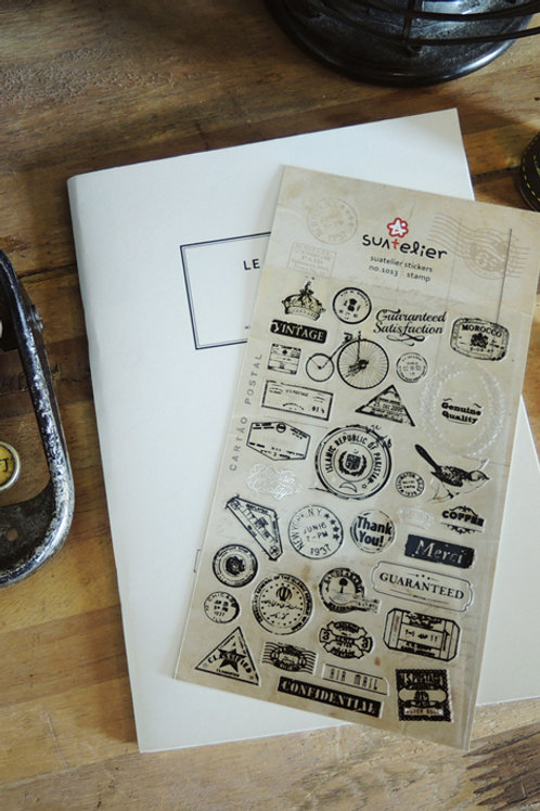 Suatelier Stickers No.1013 - Stamp
