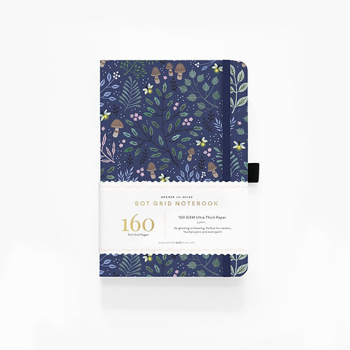 Archer & Olive A5 Dot Grid Notebook - Into The Forest