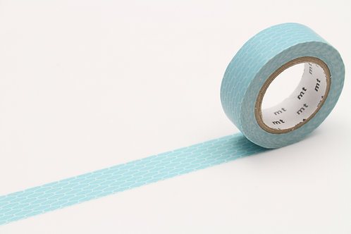 MT Wicker Ajiro Hisoku (Celadon) Washi Tape