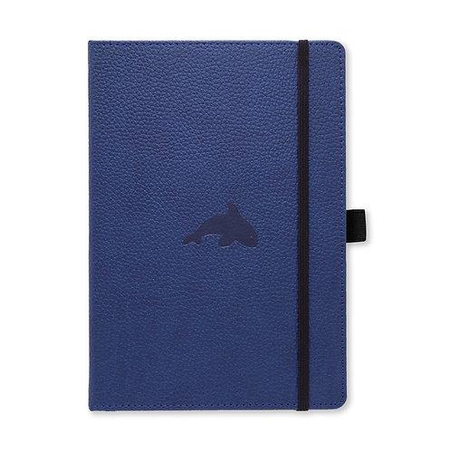 Dingbats* Wildlife A5+ Dot Grid Notebook - Blue Whale