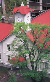 日本一古い、札幌の時計台