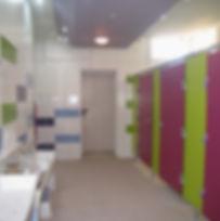 restructuration pour accessibilité des sanitaires