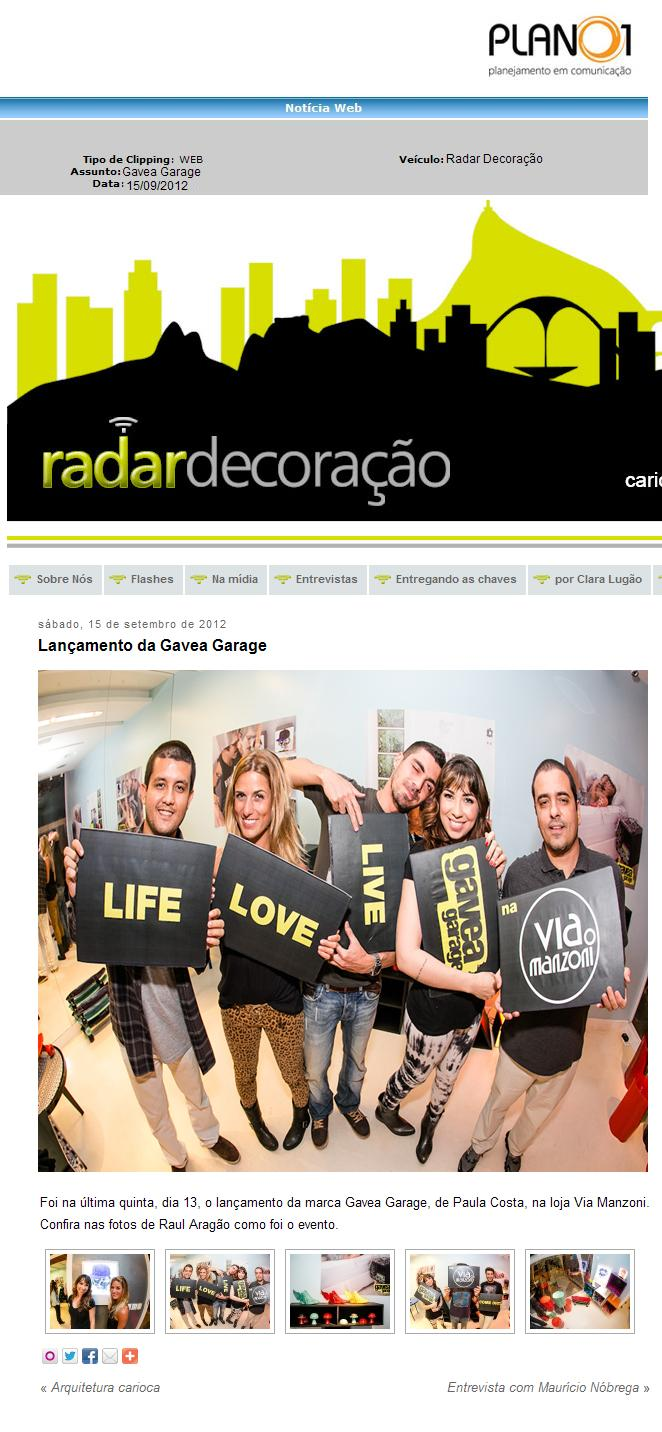 Radar Decoracao _19-09-2012