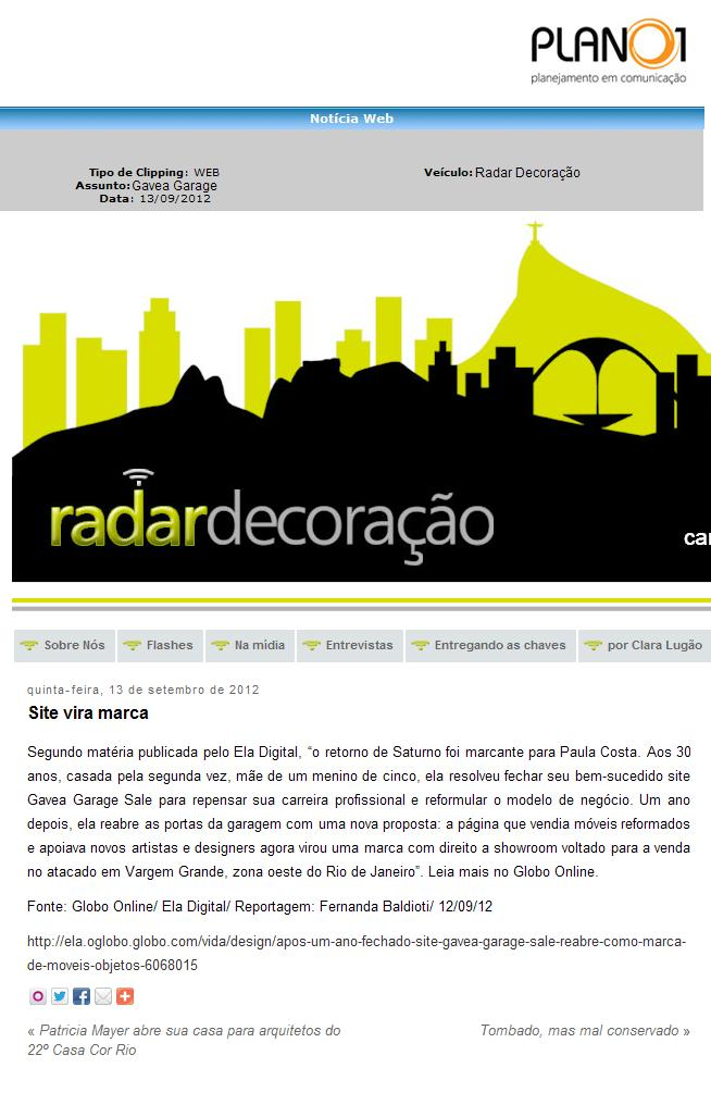Radar Decoracao _ 13-09-2012