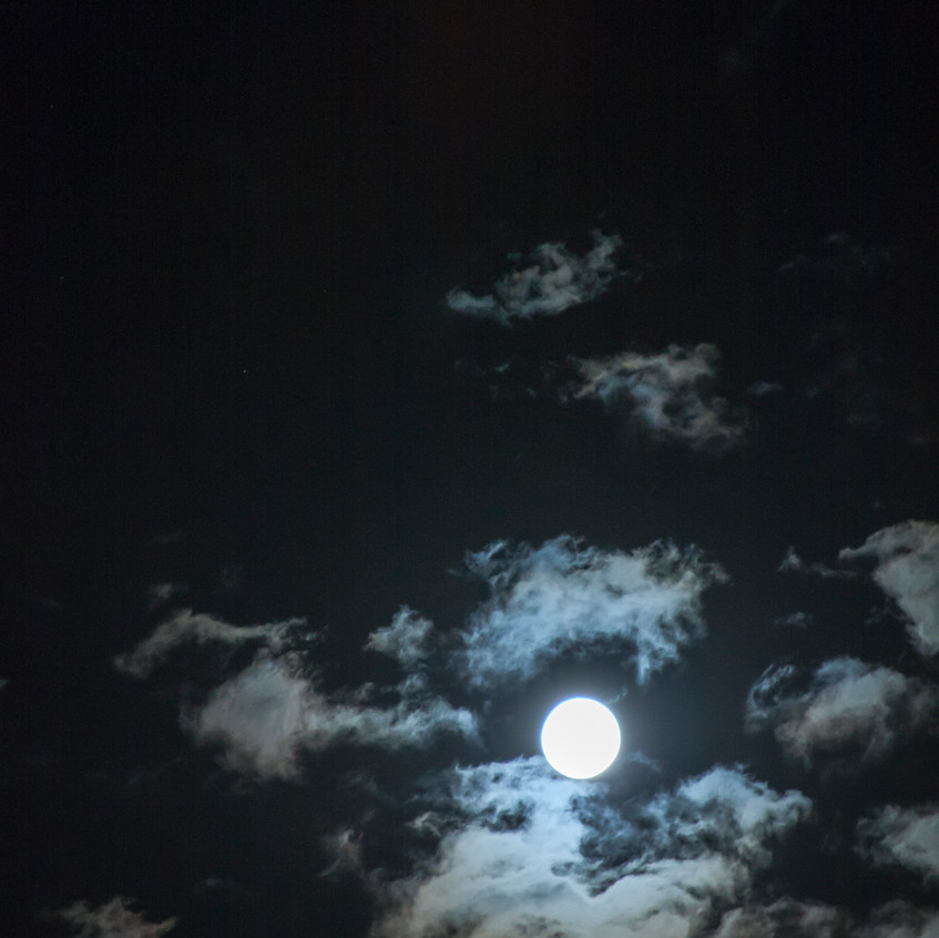 moon & clouds II