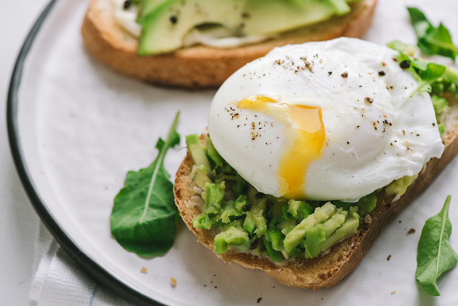 Poached Egg Sandwich