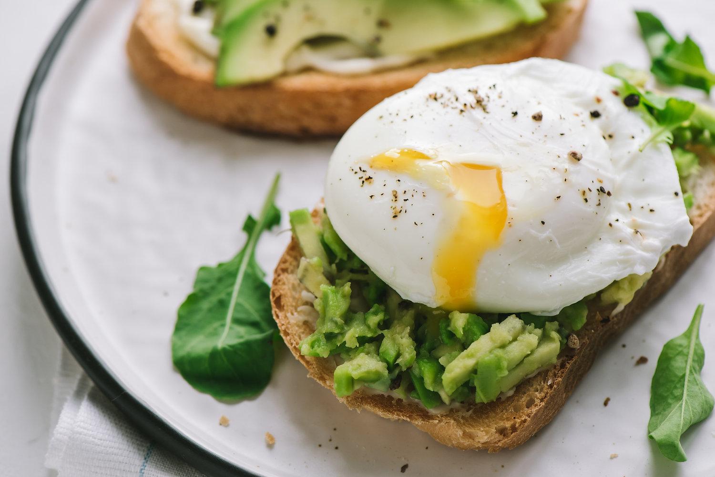 Sandwich uovo in camicia
