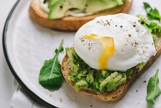 Sandwich poché Egg