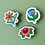 Thumbnail: Kit com 3 Pins - Coleção Primavera