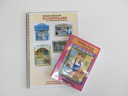 Apostila de Miniaturas em Bauernmalerei