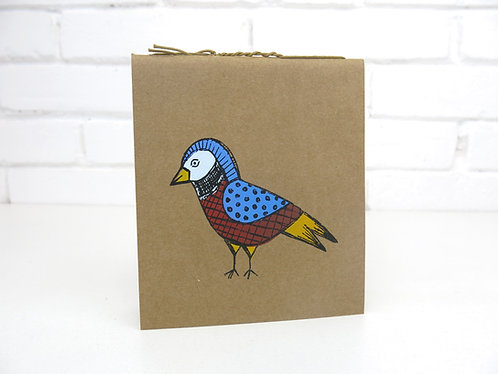 Caderninho Fólio - Pássaros da Mantiqueira