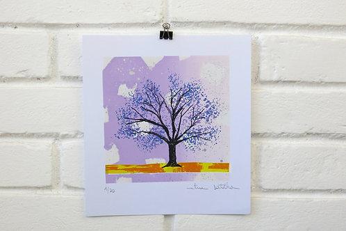 """Serigrafia """"Árvore do Dia"""" - 1"""