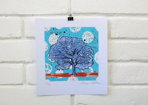 """Serigrafia """"Árvore do Dia"""" -2"""