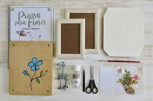 Kit Prensagem Flores Completo