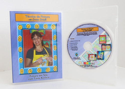 DVD Pintura em Telas