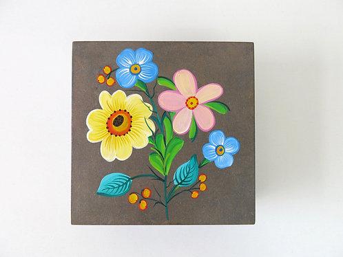 Caixa Quadrada - Flores da Mantiqueira