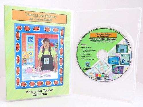DVD Pintura em Tecido