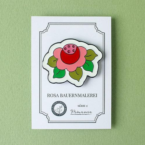 Pin Rosa Bauernmalerei