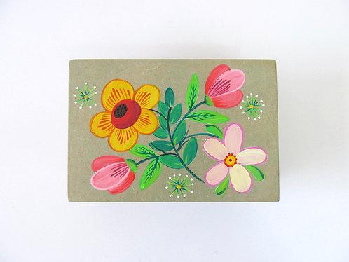 Caixa Retangular - Flores da Mantiqueira