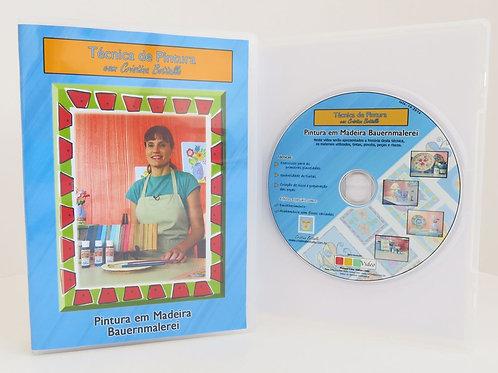 DVD Pinceladas Básicas Bauernmalerei