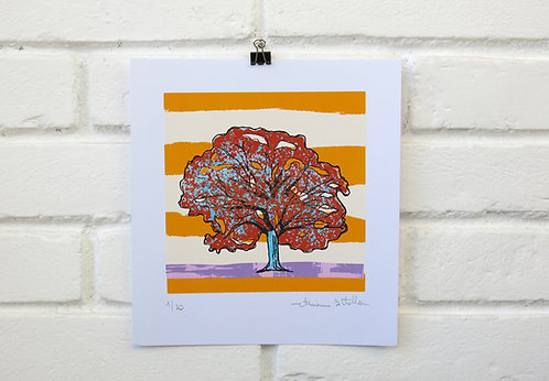 """Serigrafia """"Árvore do Dia"""" - 5"""