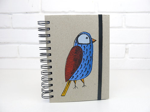 Caderneta com Elástico - Pássaros da Mantiqueira