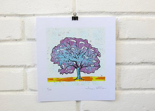 """Serigrafia """"Árvore do Dia"""" - 11"""