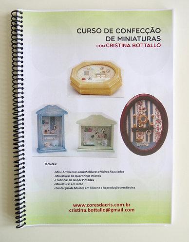 Apostila Curso de Confecção de Miniaturas