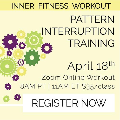 IFW: Pattern Interruption Training - April 18th
