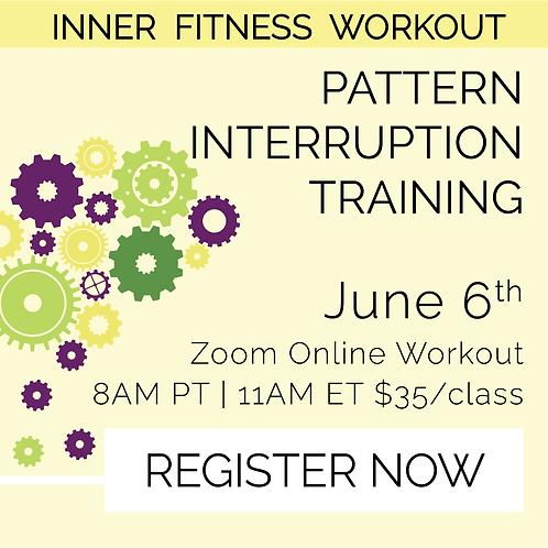 IFW: Pattern Interruption Training - June 6th