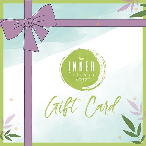Inner Fitness Gift Cards