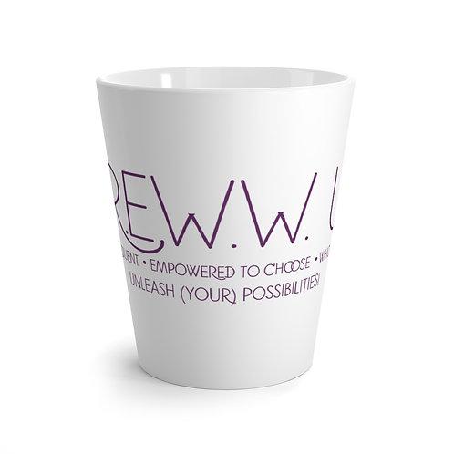 C.R.E.W.W. U.P.™ Latte Mug