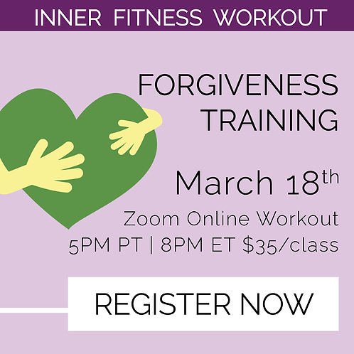 IFW: Forgiveness Training - March 18th
