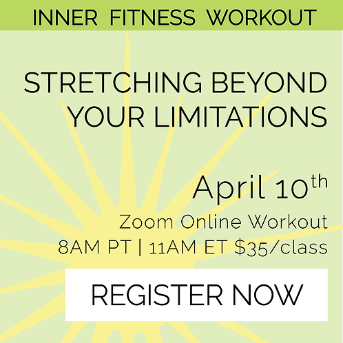 IFW: Stretching Beyond Your Limitations - April 10th