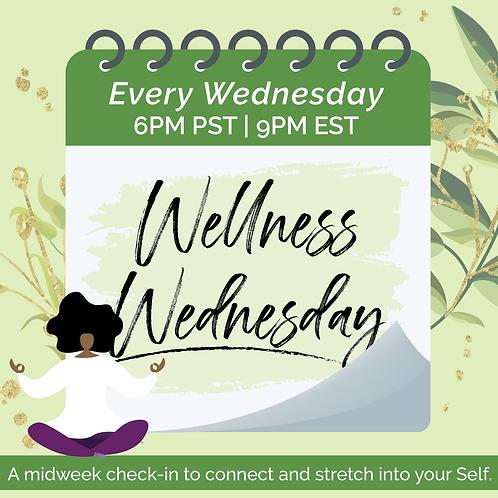 Single Wellness Wednesday Session