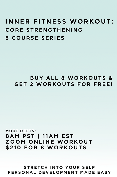 Inner Fitness Workout - Core Strengthening 8 Course Series