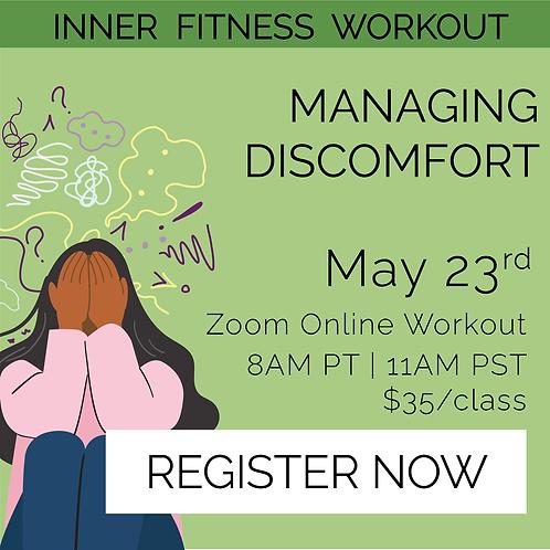 IFW: Managing Discomfort - May 23rd