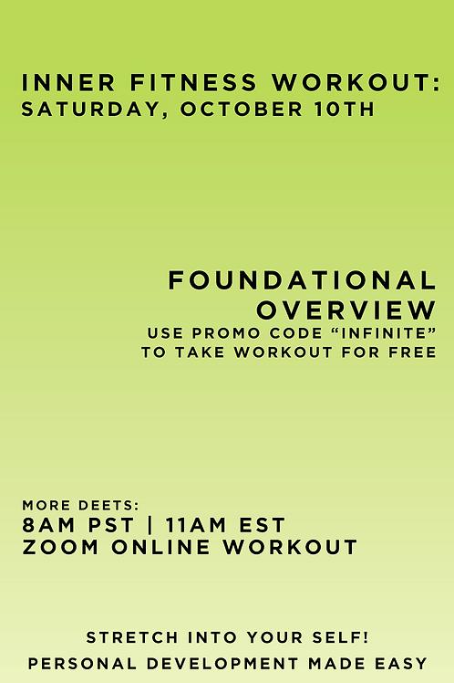 October 10 Inner Fitness Workout