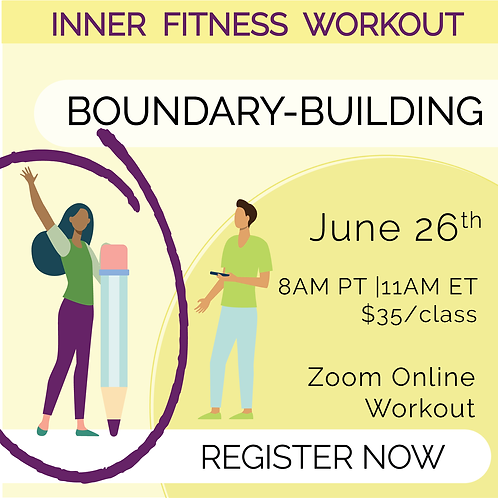 IFW: Boundary-Building - June 26th