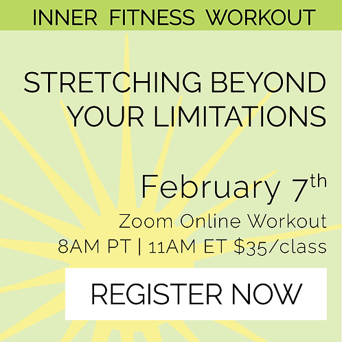 IFW: Stretching Beyond Your Limitations - February 7th