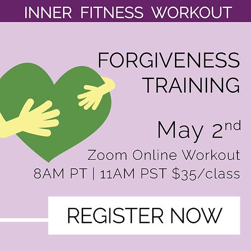 IFW: Forgiveness Training - May 2nd