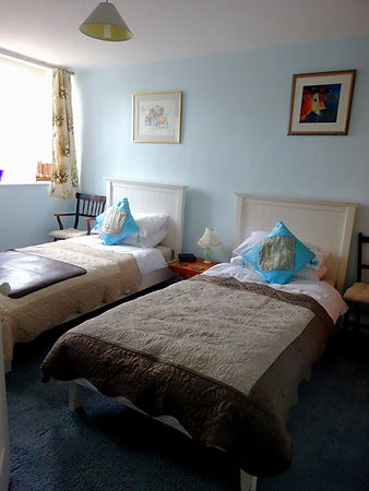 The Courtyard Twin room at Hornton Grounds bed and breakfast Oxfordshire